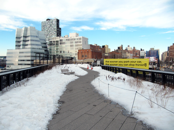 WINTER AT THE HIGH LINE
