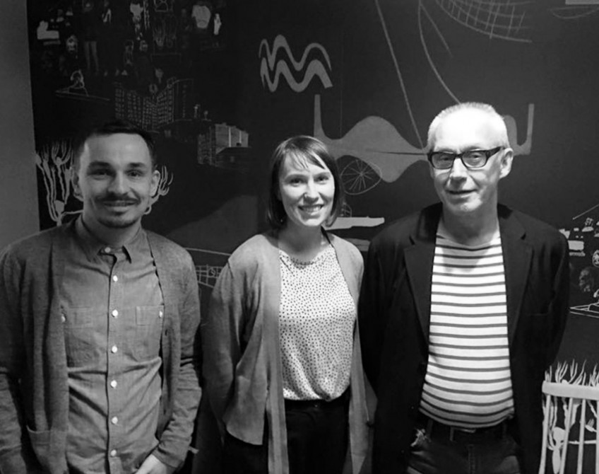 Discussion on vacant spaces at Radio Helsinki
