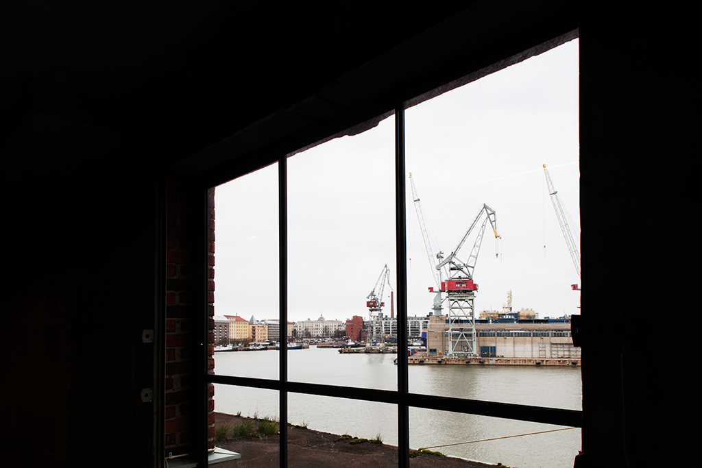 View from L3 towards Hietalahti. Photo: Aino Huovio / Helsinki Design Week.