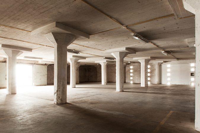 L3 old warehouse spaces. Photo: Aino Huovio / Helsinki Design Week.