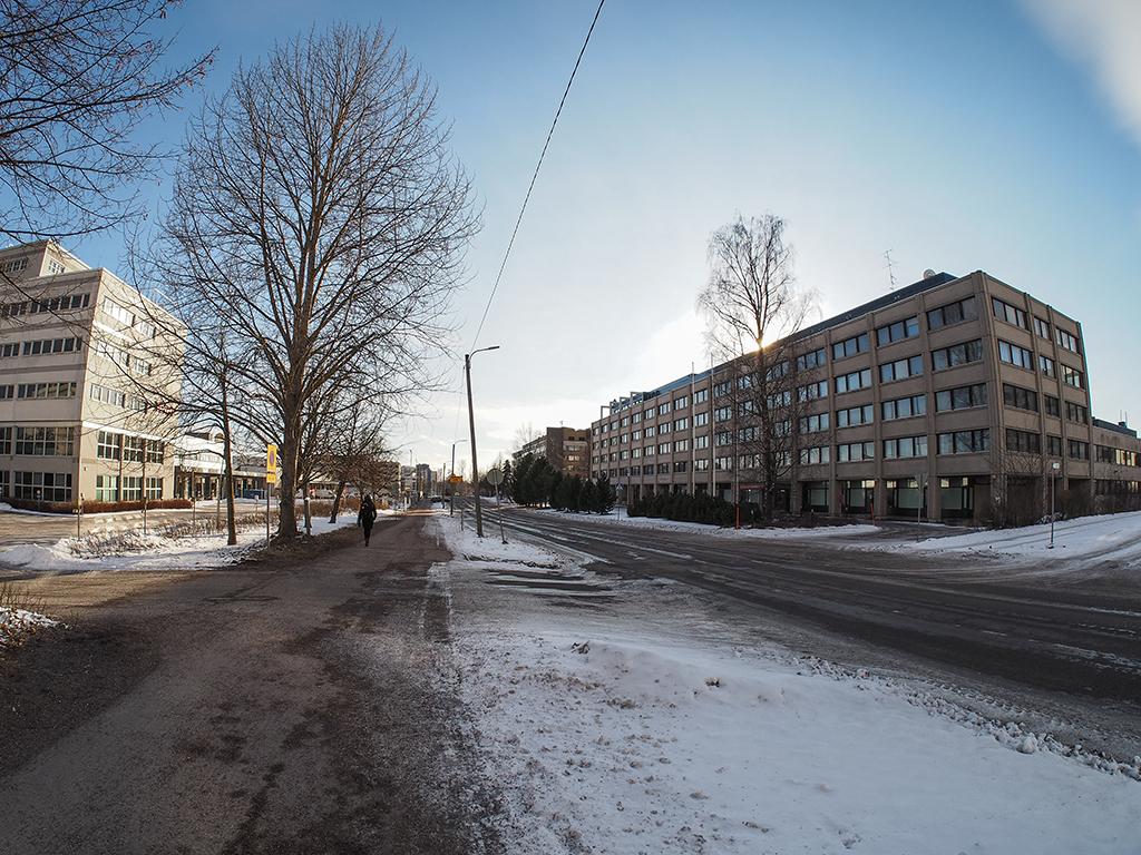 Street view of Kutojantie, Kera. Photo: Susanna Ahola