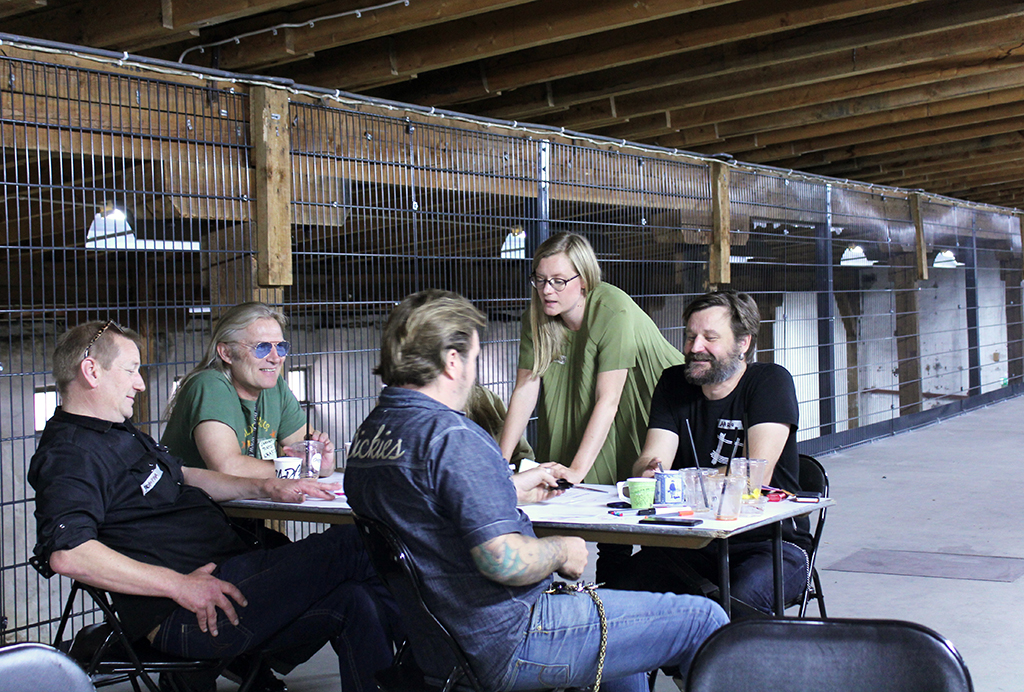Open worshop with Jätkäsaari residents and local entrepreneurs in fall 2016. Photo: Sudar Oli Gunasekaran