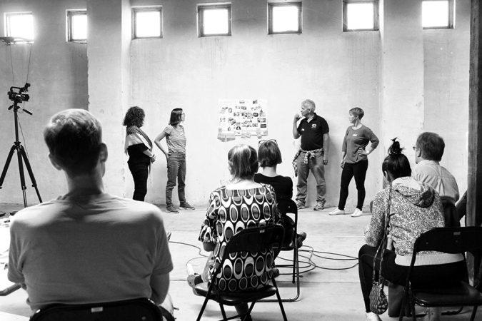 Open worshop with Jätkäsaari residents and local entrepreneurs in fall 2016. Photo: Sudar Oli Gunasekaran