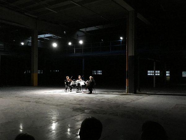 Concert by Our Festival, September 2017. Photo: Hella Hernberg