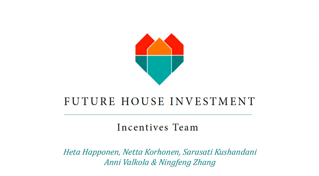 DfG 2014, Future House Investment concept by Accessibility Incentives team