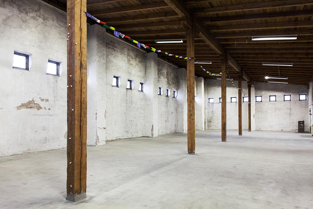 Indoor spaces at L3 attic. Photo: Aino Huovio / Helsinki Design Week.