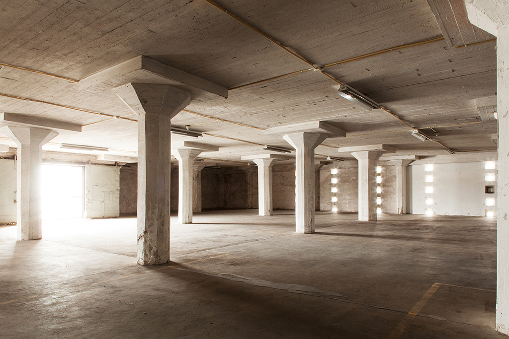 L3 old warehouse spaces. Photo: Aino Huovio / Helsinki Design Week.