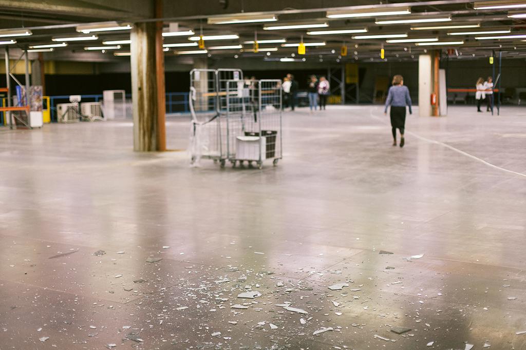 Empty logistics spaces. Photo: Johannes Romppanen